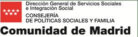 Logotipo Comunidad de Madrid-Direccion General de Servicios Sociales